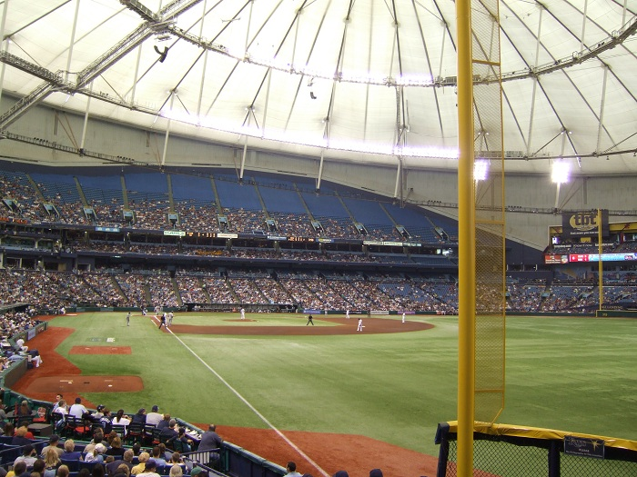 View From Outfield