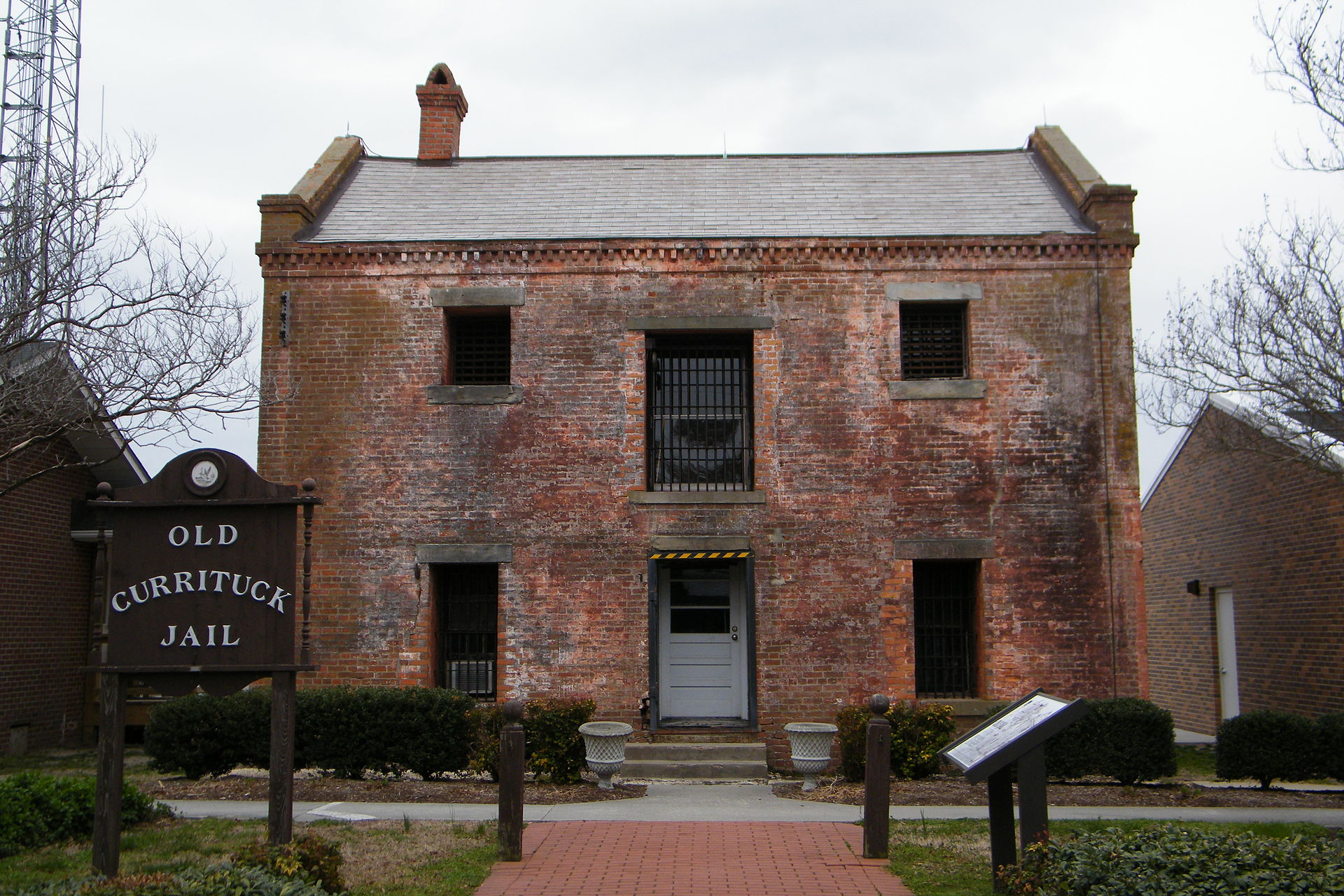 The Old Currituck County Courthouse and Jail