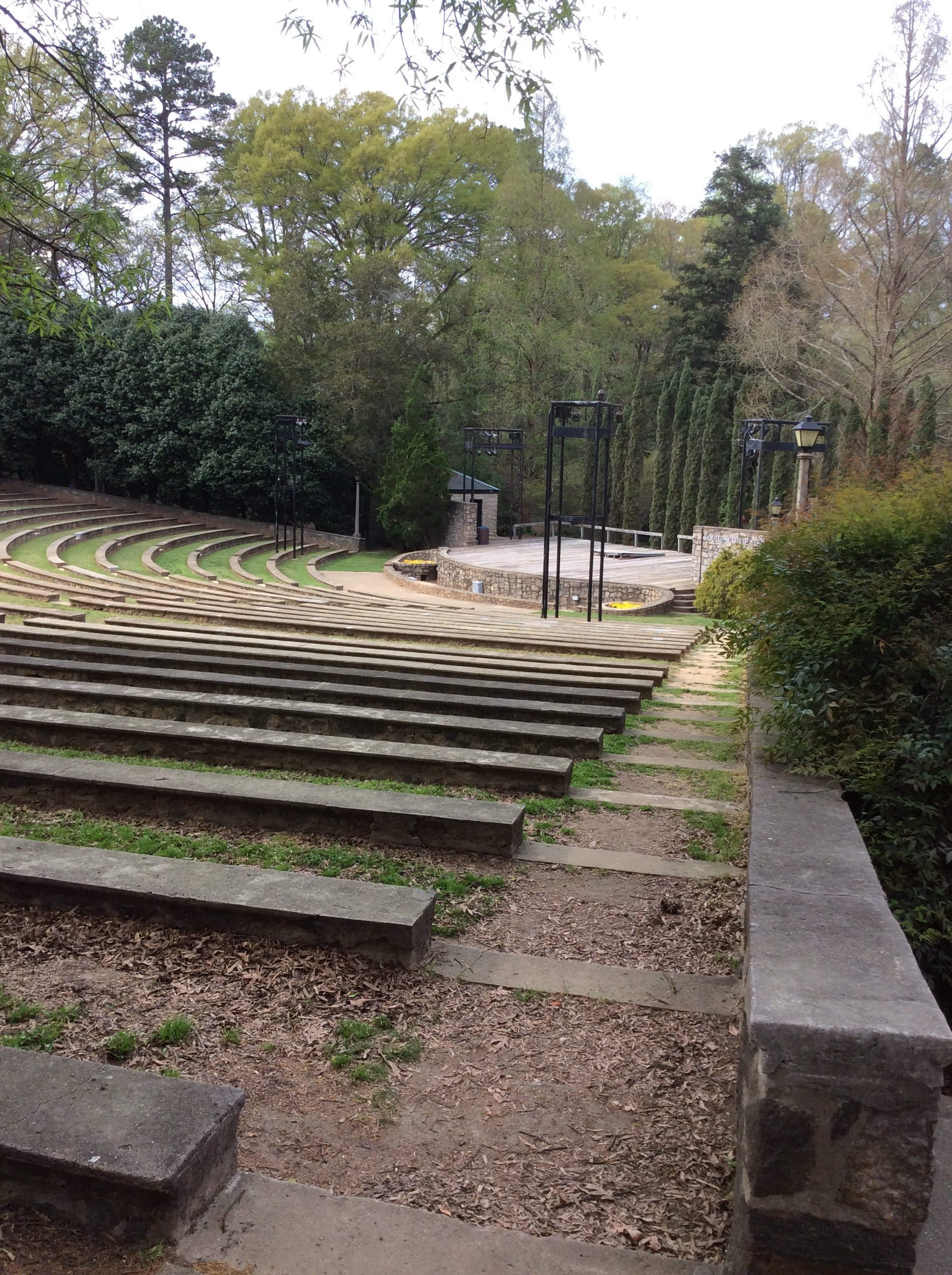 Open air amphitheater