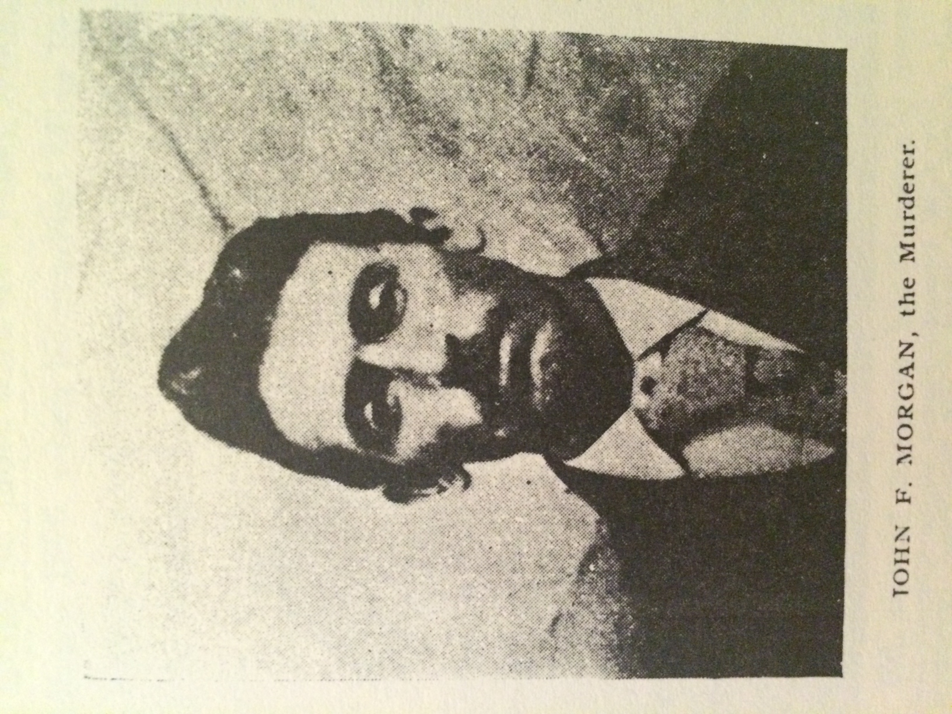 Image of John F. Morgan taken from Morrison's pamphlet