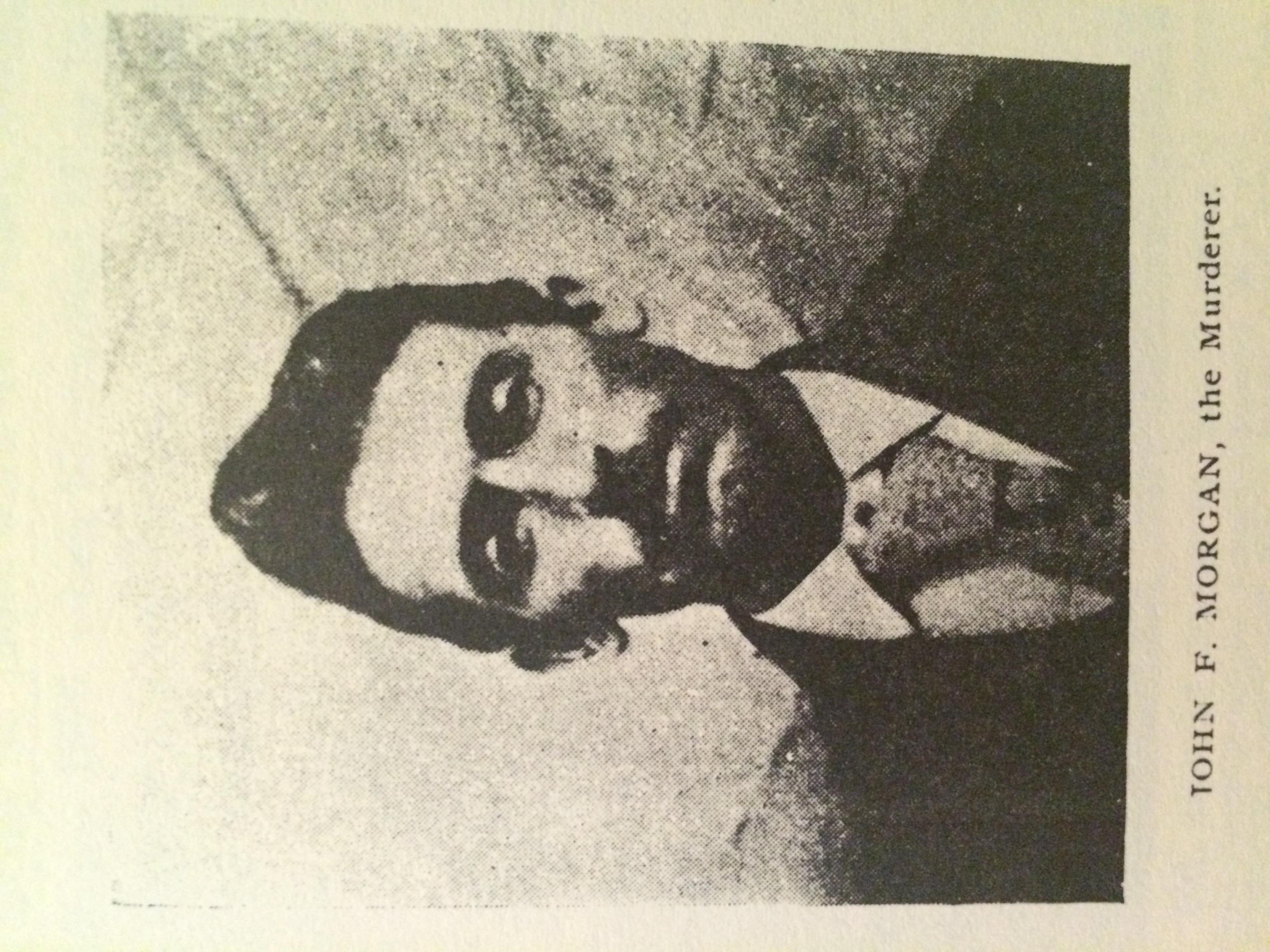 Image of John F. Morgan taken from Morrison's pamphlet