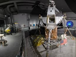 Immerse yourself in the popular Lunar Lander exhibit!