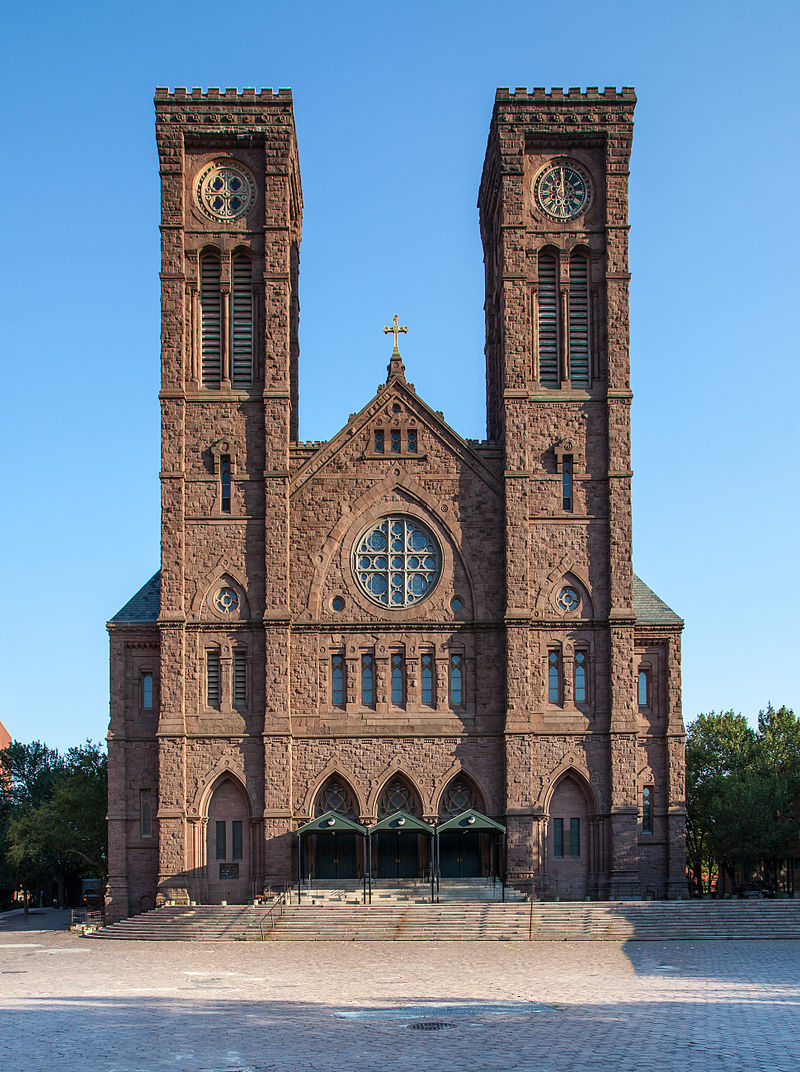 The cathedral is the Mother Church of the Roman Catholic Diocese of Providence