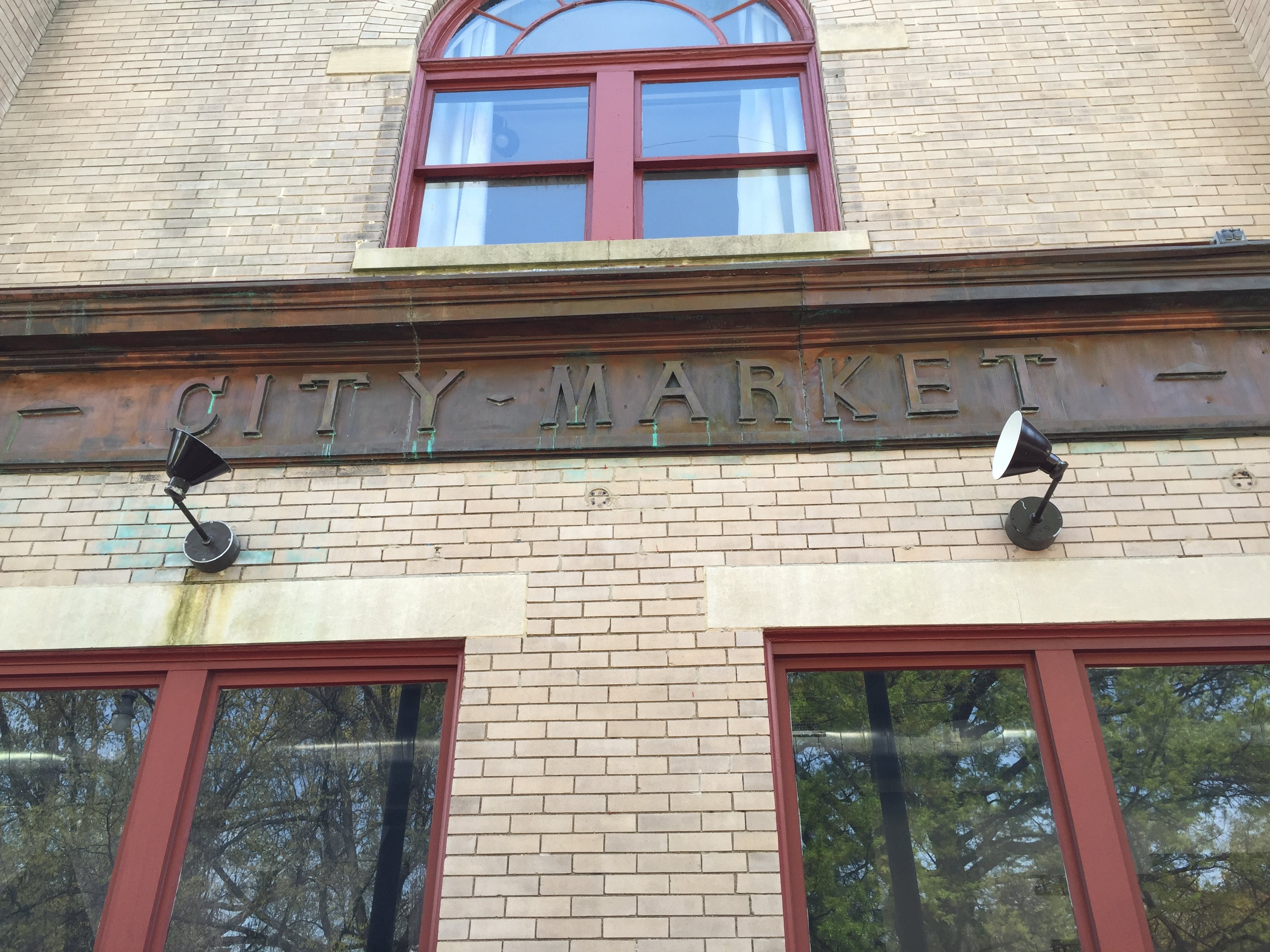 Photo of the City Market entrance