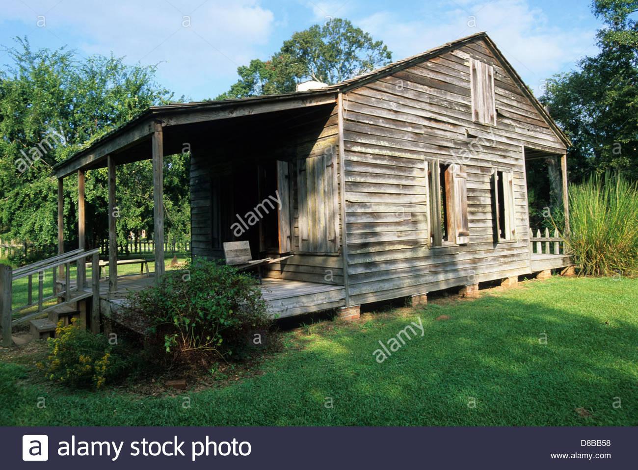 The Acadian farmstead family cabin.