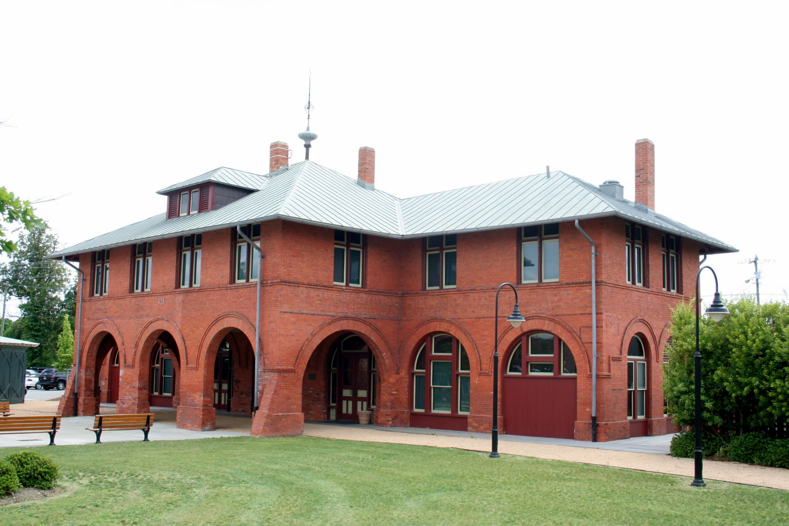 The Fayetteville Area Transportation and Local History Museum is located in former the Cape Fear and Yadkin Valley Railway Depot, which was built in 1890.