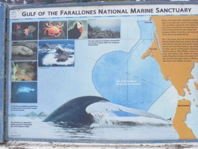 Greater Farallones Marine Sanctuary marker (image from Historic Markers Database)
