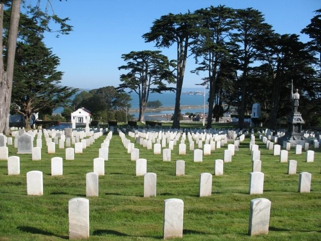 San Francisco National Cemetery (image from Historic Markers Database)
