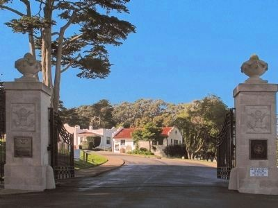 Cemetery gates (image from Historic Markers Database)