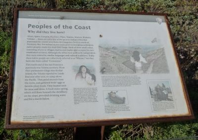 Peoples of the Coast marker (image from Historic Marker Database)