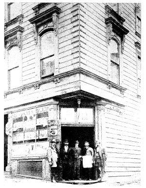 Wagner's Beer Hall, circa 1870 (image from Historic Markers Database)