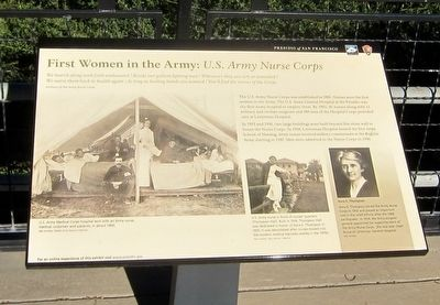 First Women in the Army: U.S. Army Nurse Corps historic marker (image from Historic Marker Database)