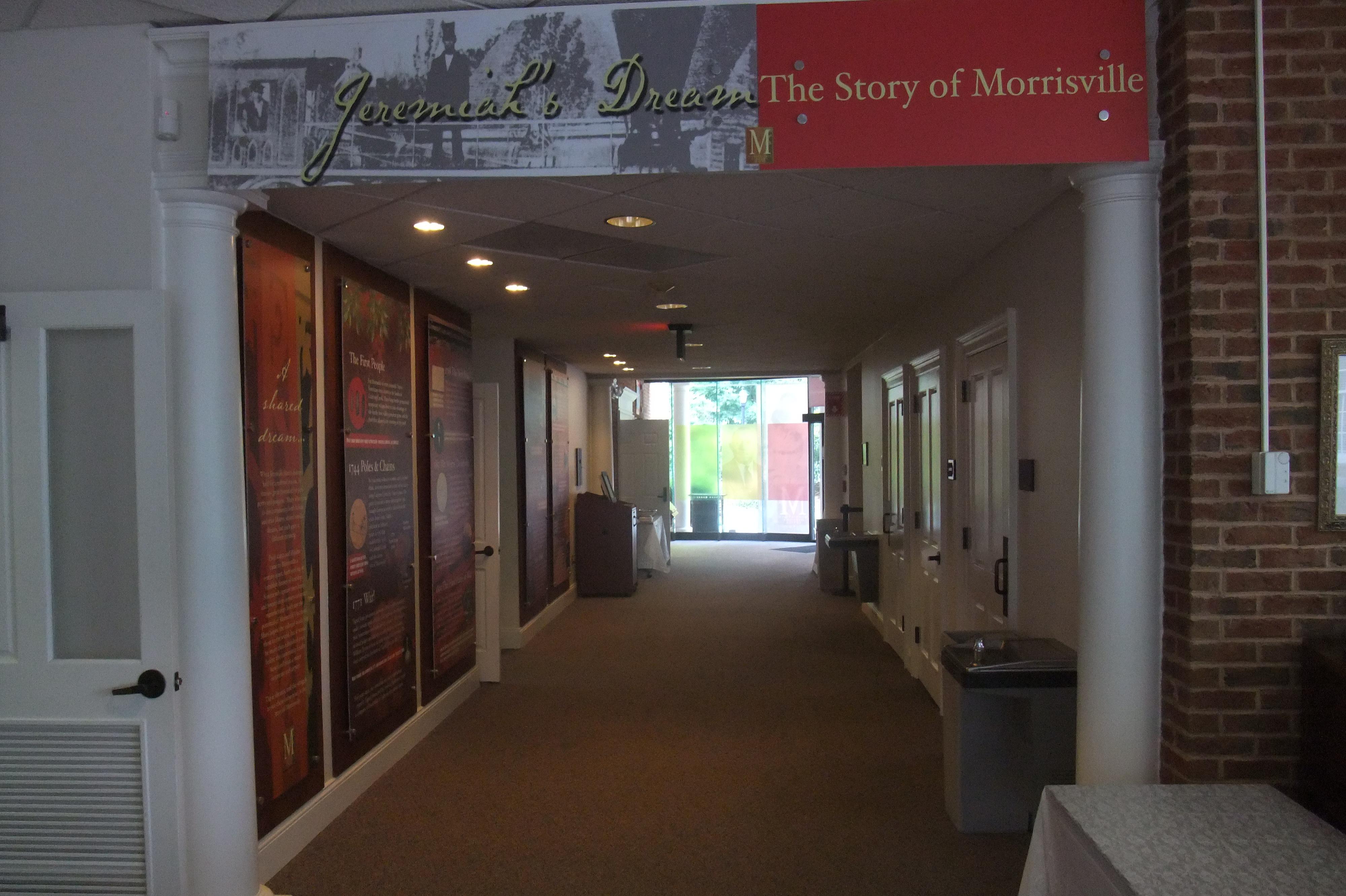 Entrance to Jeremiah's Dream exhibit.