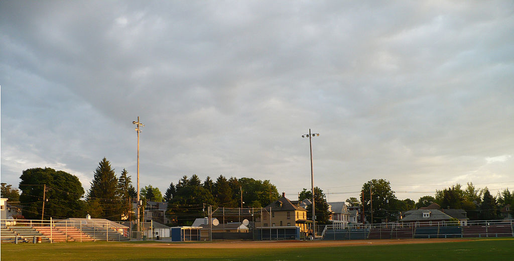 Henninger Field after the completion of Wilson College's renovations.