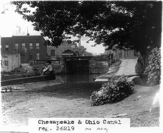 Chesapeake & Ohio Canal. [Between and 1932, 1909] Image. Retrieved from the Library of Congress, <https://www.loc.gov/item/2002695629>.