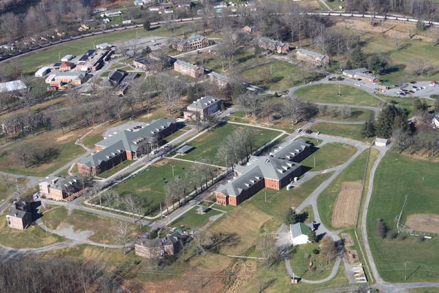 Layout of Alderson Federal Prison Camp