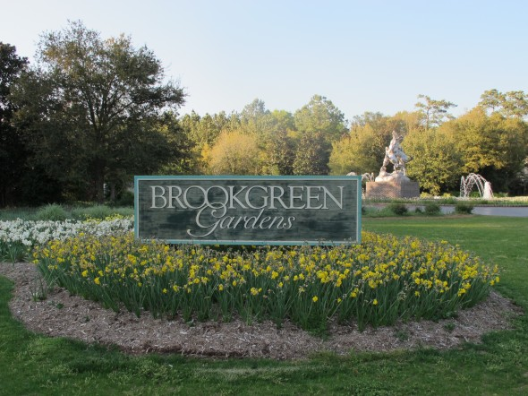 Brookgreen Gardens was established in 1931 by Anna and Archer Huntington. It is the largest outdoor sculpture garden in the country and also features a zoo.