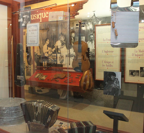 Historical artifacts on display within the museum.