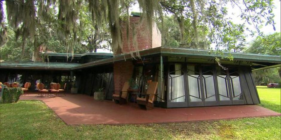 The main house at Auldbrass Plantation