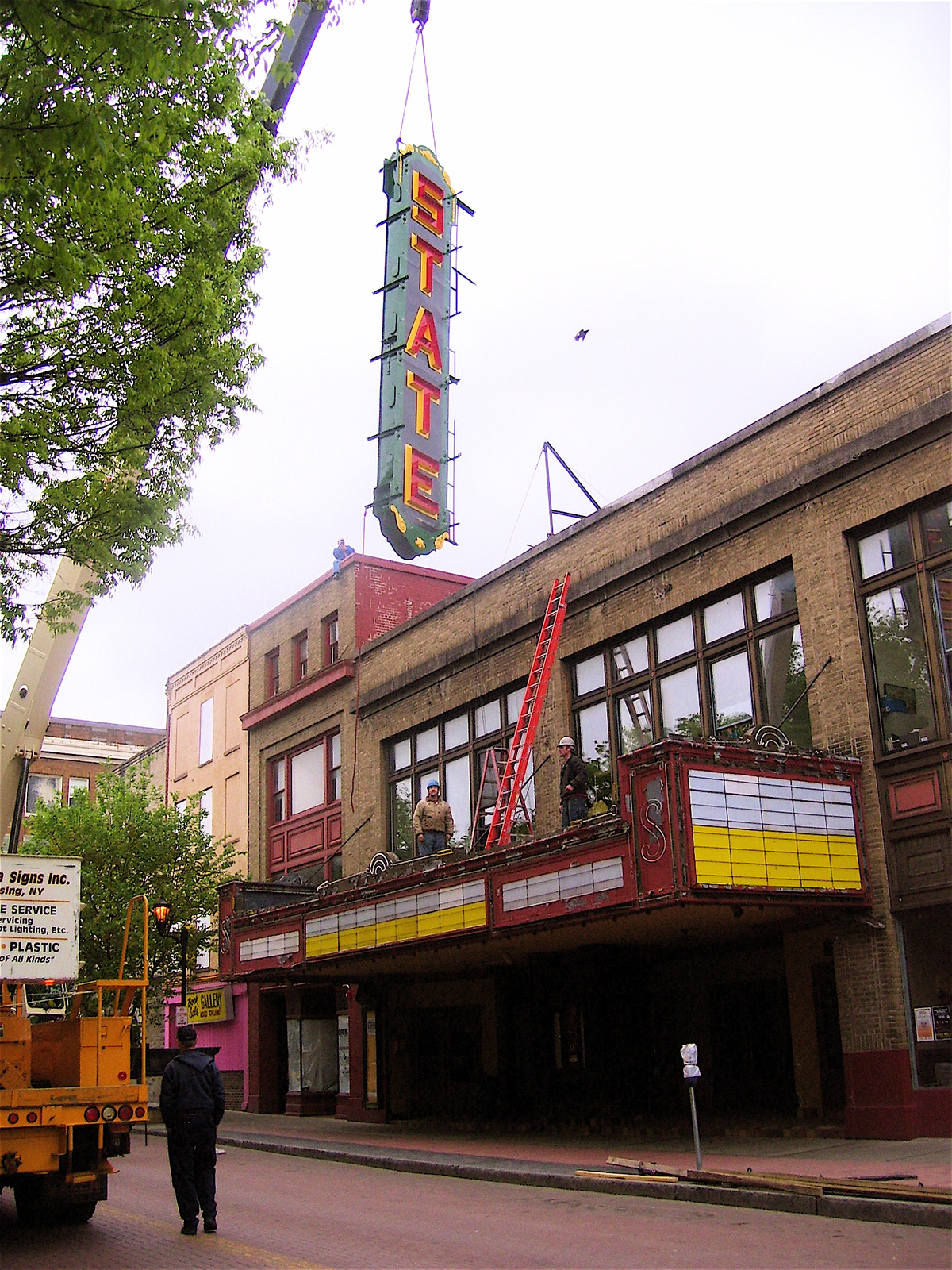 The State Theatre was built in 1928.