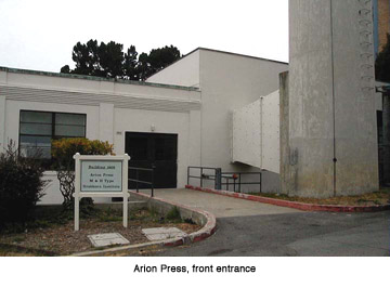 Arion Press (image from Arion Press)