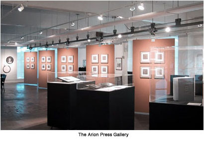 Arion Press gallery (image from Arion Press)