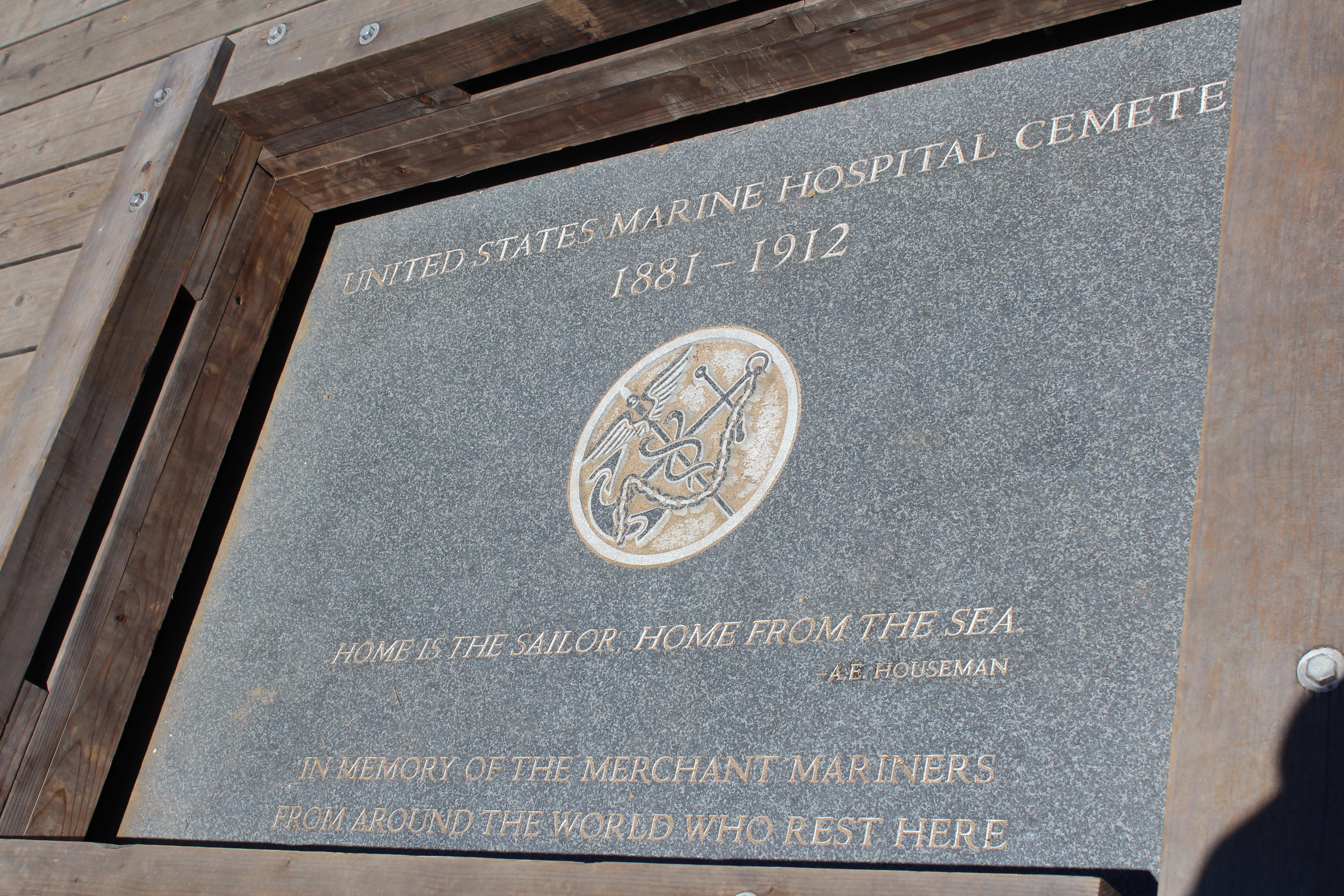 Marine Cemetery Vista Memorial (image from Cemetery Travel)
