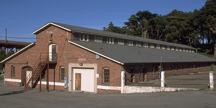 Presidio Park Archives & Records Center (image from National Park Service, Presidio)