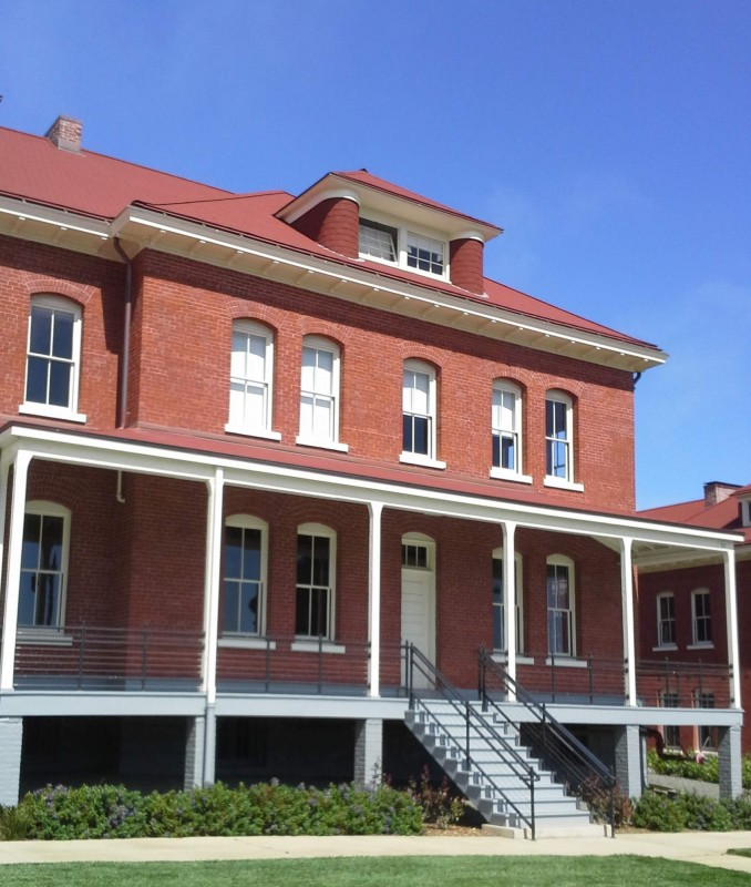 Pioneer Hall at the Presidio (image from the Society of California Pioneers)