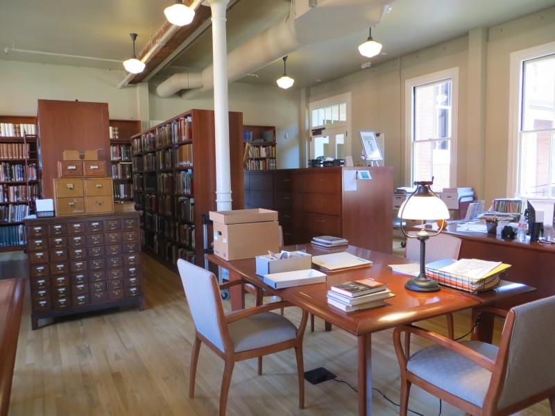 Alice Phelan Sullivan Library (image from the Society of California Pioneers)