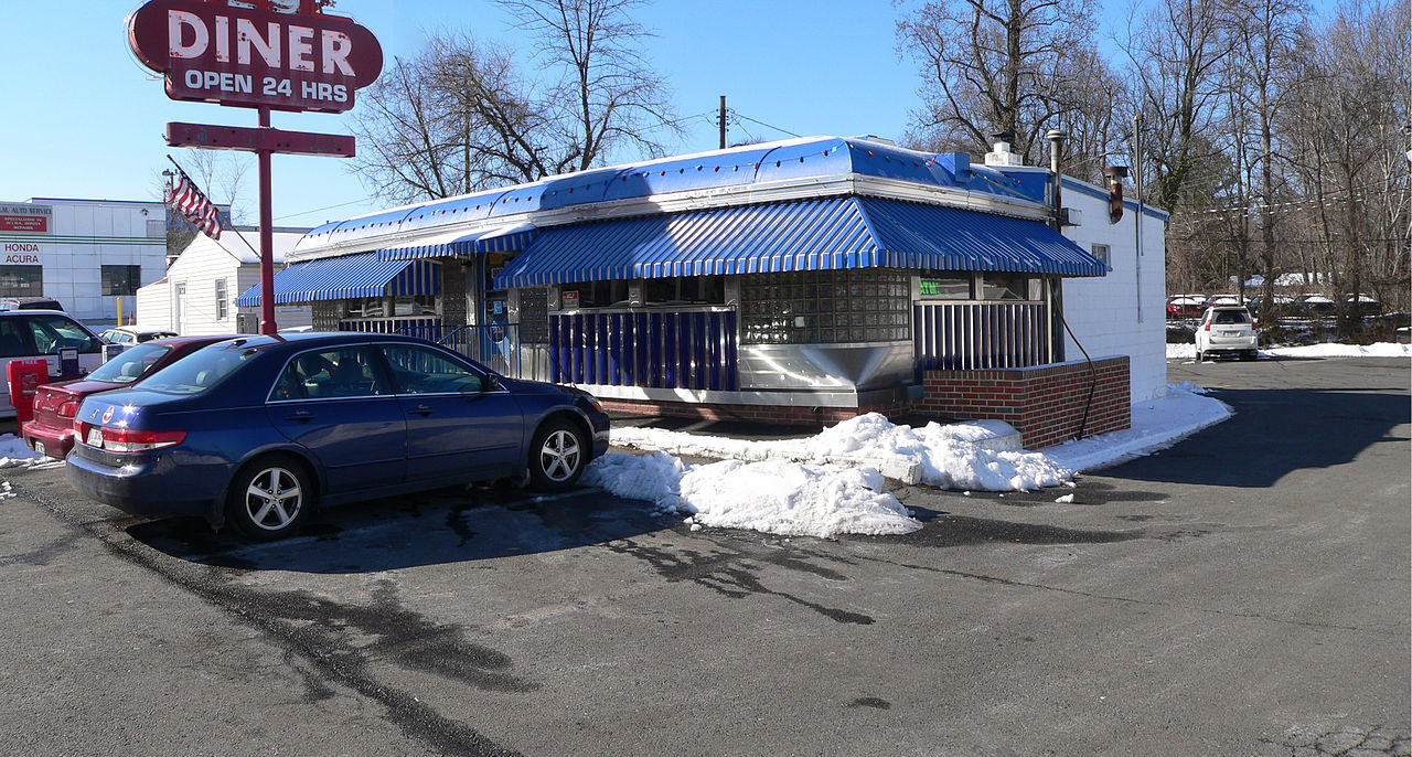 Exterior of the 29 Diner