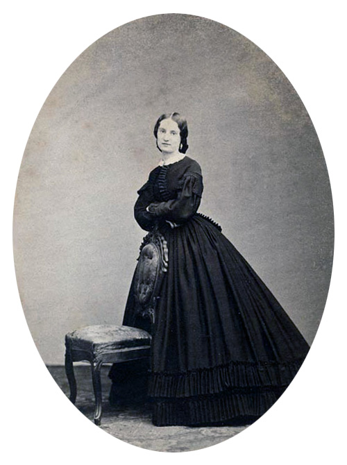 Studio portrait of Antonia Ford