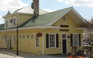 The depot has been preserved thank to the efforts of the Rockdale County Historical Society.
