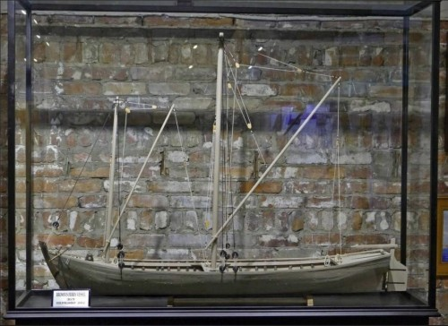 The model of the Brown's Ferry boat