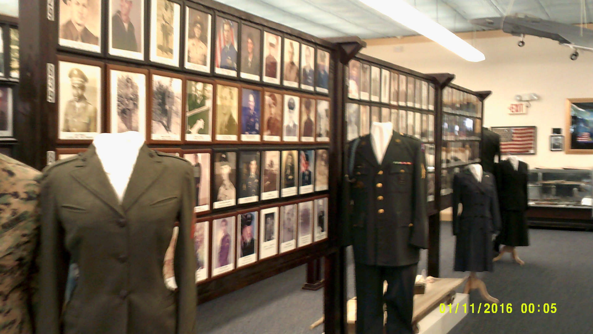 Photographs and uniforms of Edgecombe County Veterans