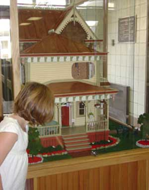 The Guske Victorian Dollhouse.