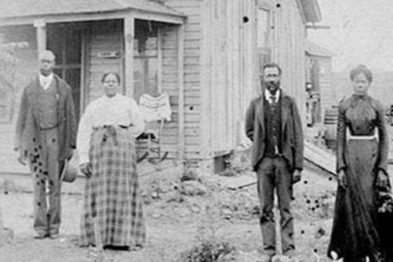 Members of Ocoee black community in 1920