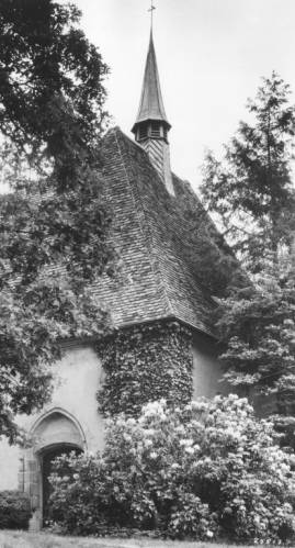 St. Joan of Arc Chapel on Long Island residence in 1963