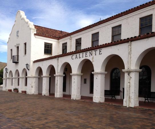 Caliente Railroad Depot