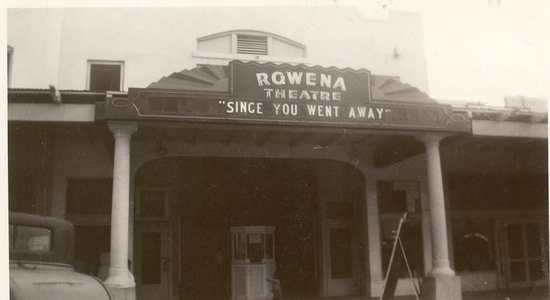 Rowena Theatre, 1944