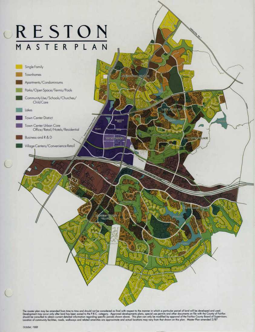 Reston Master Plan