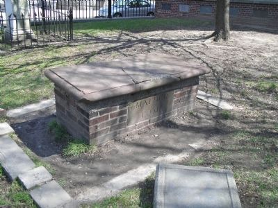 Mather family tomb (image from Historic Markers Database)
