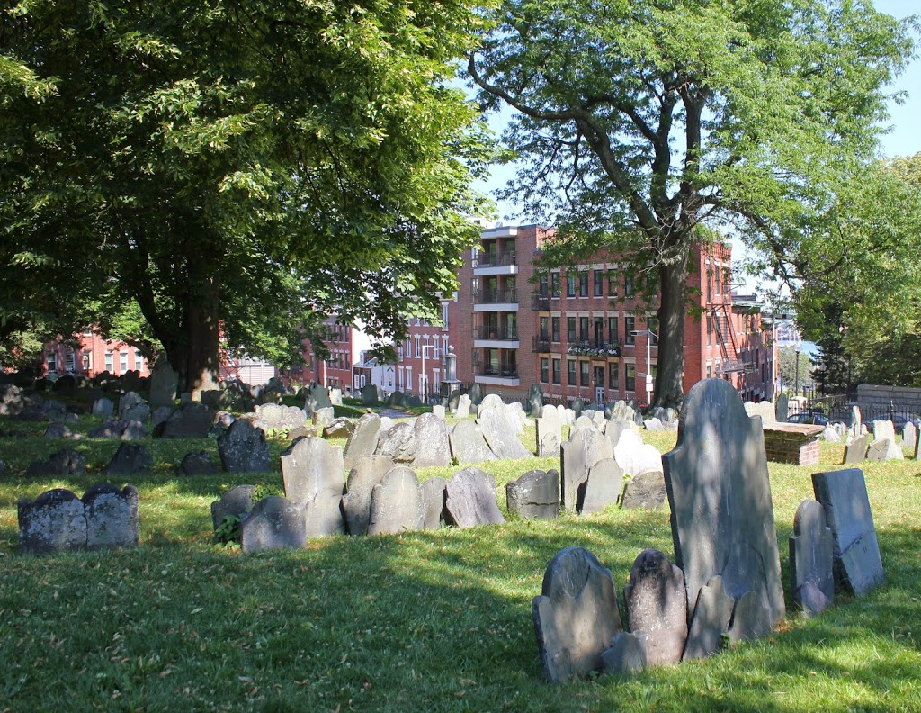 Copp's Hill Burying Ground in 2014 (image from Lost New England)