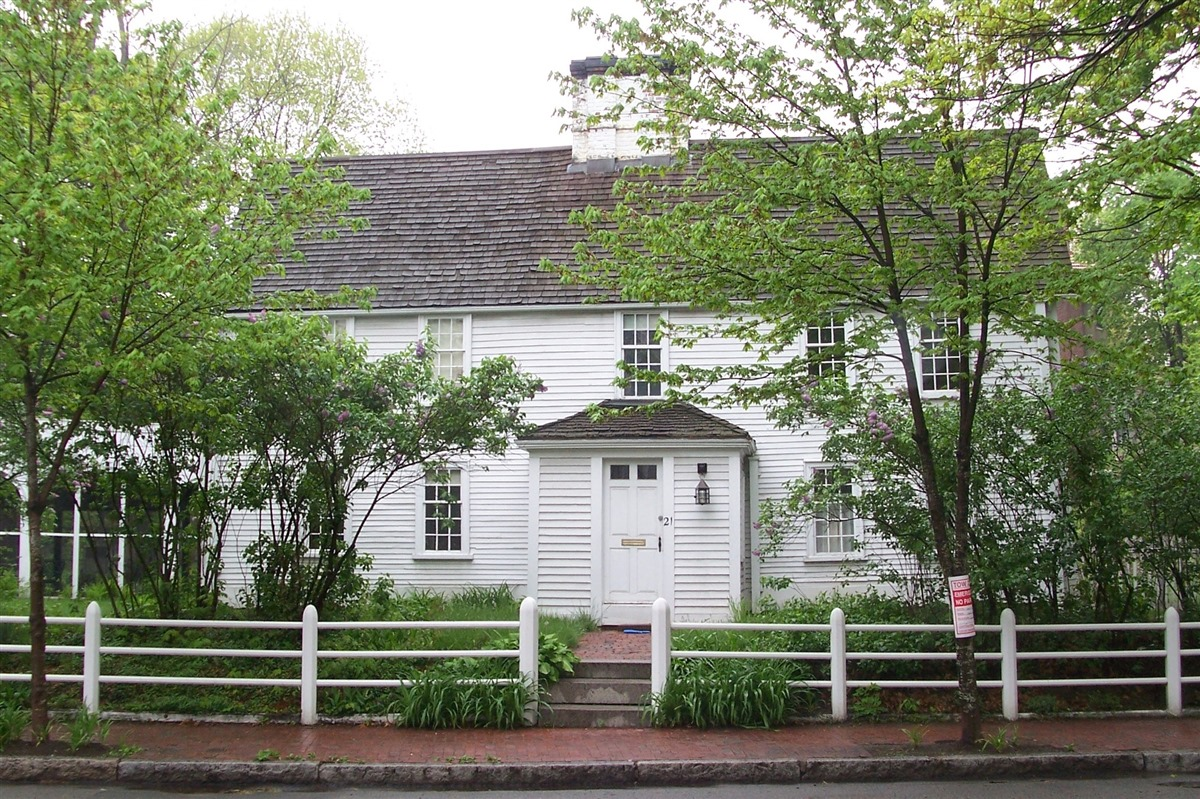 The Cooper-Frost-Austin House (image from Historic New England)