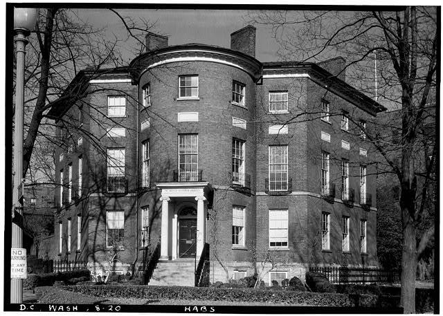 The Octagon Building in 1936 (loc.gov)