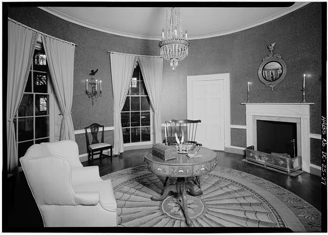 The so-called Treaty Room in 1936 (loc.gov)