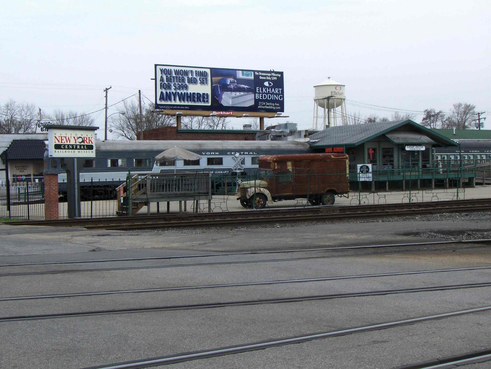 The National New York Central Railroad Museum...NOT on the wrong side of the tracks.