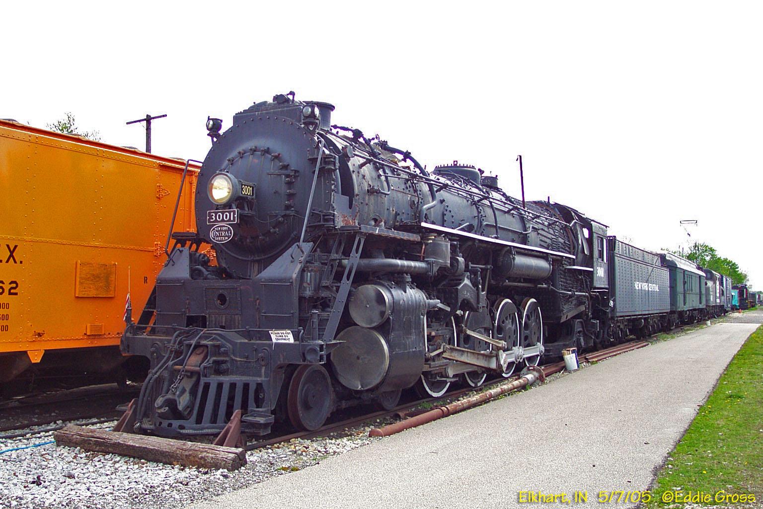 The famous L-3a Mohawk Steam locomotive.
