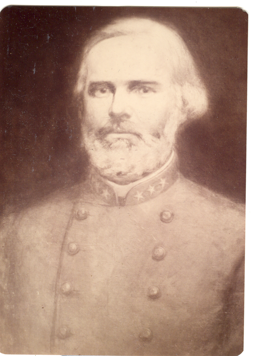 John Luther Bridgers, third major owner of the house from 1850-1880, served as Captain of the Edgecombe Guards in the Civil War.