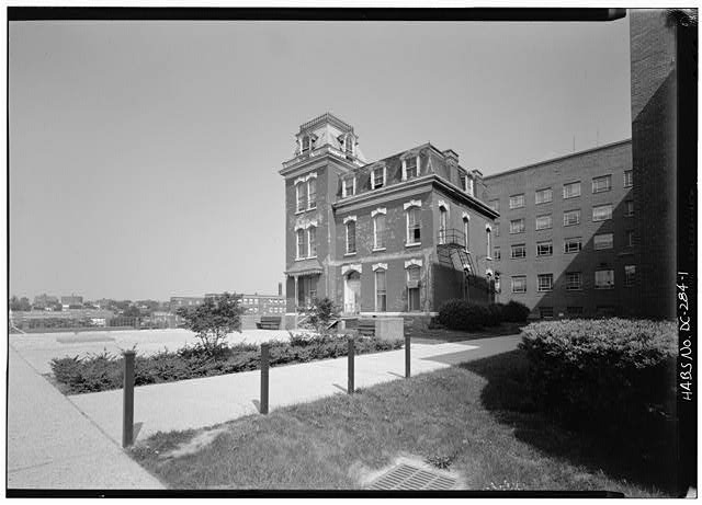 Howard Hall exterior (loc.gov)